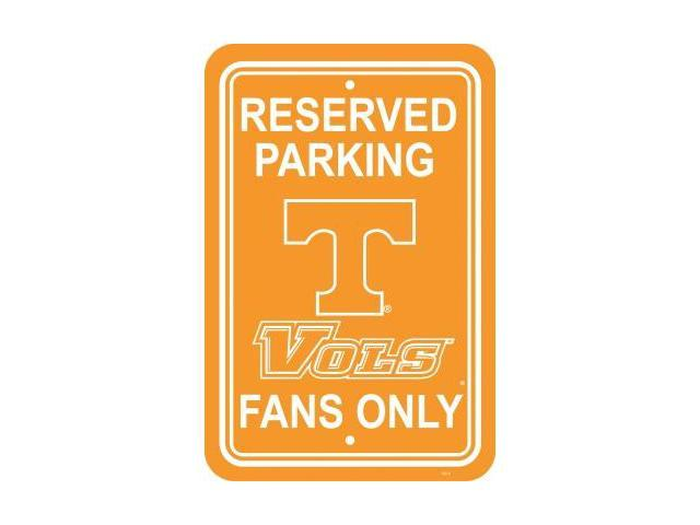 Fremont Die 50265 Tennessee Volunteers- 12 in. X 18 in. Plastic Parking Sign