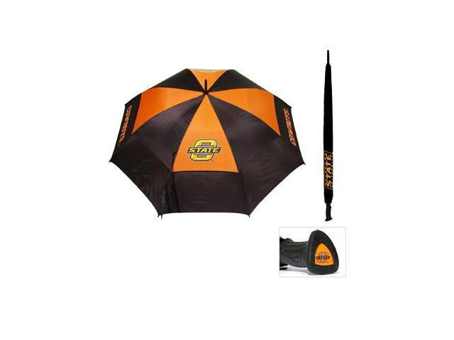 Team Golf 24569 Oklahoma State University 62 in. Double Canopy Umbrella