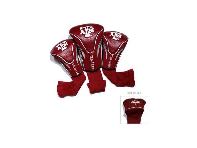 Team Golf 23494 Texas A&M University 3 Pack Contour Fit Headcover