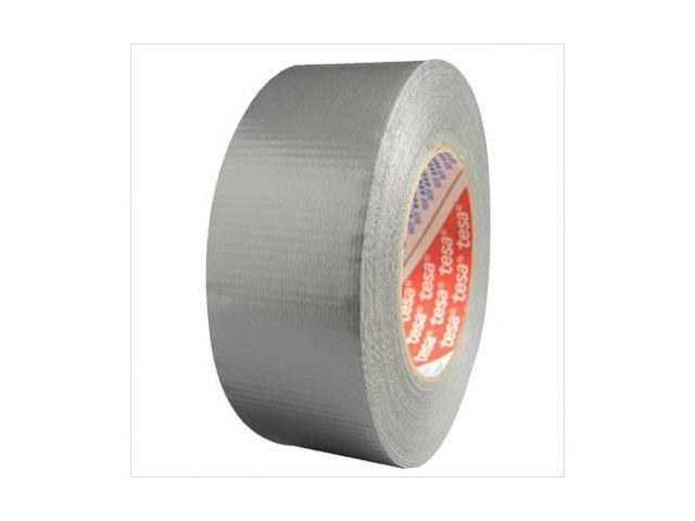 Tesa Tapes 744-64663-09001-00 12 Mil Silver Duct Tape3 Inch X 60 Yds