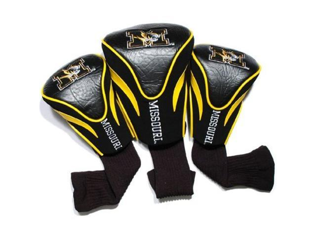 Team Golf 24994 Missouri Tigers 3 Pack Contour Fit Headcover
