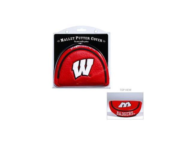 Team Golf 23931 Wisconsin Badgers Mallet Putter Cover