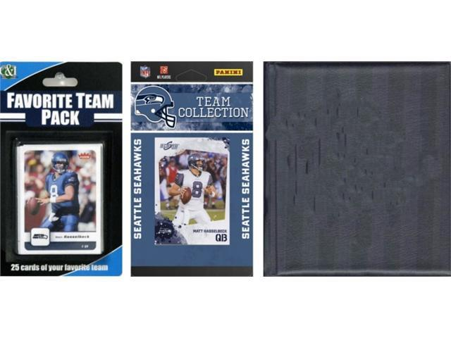C & I Collectables 2010SEAHAWKSTSC NFL Seattle Seahawks Licensed 2010 Score Team Set and Favorite Player Trading Card Pack Plus Storage Album