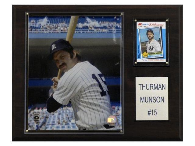 C & I Collectables 1215MUNSON MLB Thurman Munson New York Yankees Player Plaque