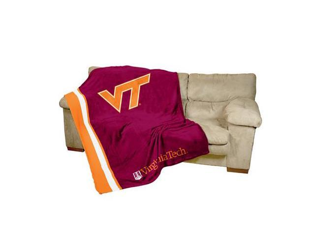 Logo Chair 235-27 Virginia Tech UltraSoft Blanket