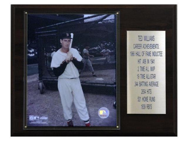 C & I Collectables 1215TEDWILLST MLB Ted Williams Boston Red Sox Career Stat Plaque