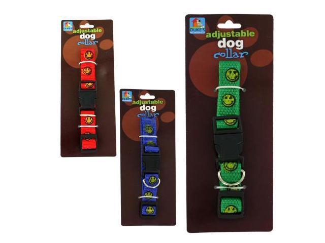 Bulk Buys DI320-72 11 x 11 x 11 Happy Face Dog Collar - Pack of 72