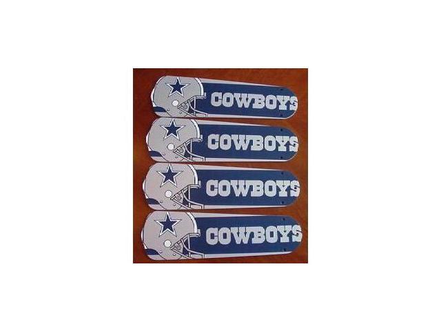 Ceiling Fan Designers 42SET-NFL-DAL NFL Dallas Cowboys Football 42 In. Ceiling Fan Blades Only