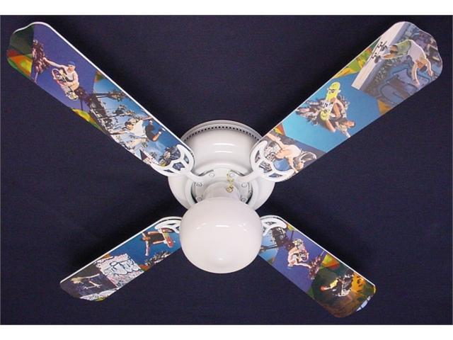 Ceiling Fan Designers 42FAN-KIDS-RSS Radical Skateboards Ceiling Fan 42 in.