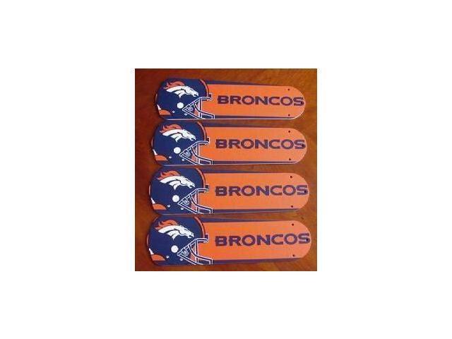 Ceiling Fan Designers 42SET-NFL-DEN NFL Denver Broncos Football 42 In. Ceiling Fan Blades Only
