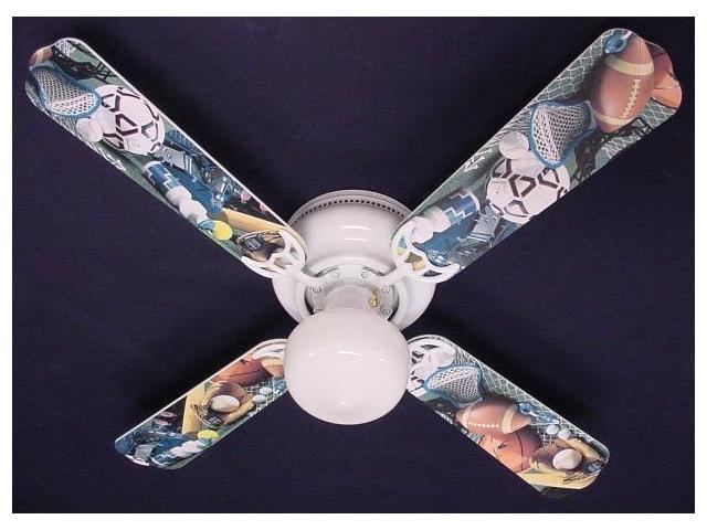 Ceiling Fan Designers 42FAN KIDS SFBS Soccer Football