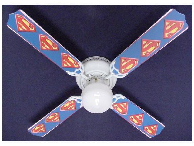 Ceiling Fan Designers 42FAN-KIDS-SMS Superman Marvel Superhero Ceiling Fan 42 in.