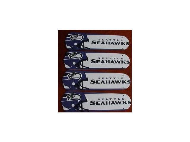 Ceiling Fan Designers 42SET-NFL-SEA NFL Seattle Seahawks Football 42 In. Ceiling Fan Blades OnlY