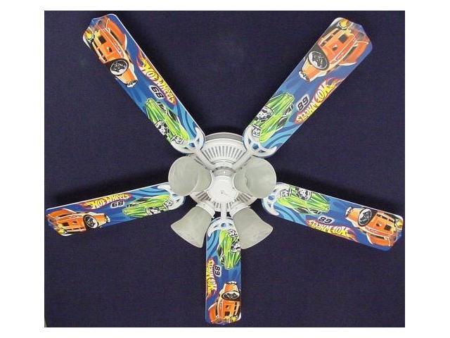 Ceiling Fan Designers 52FAN-KIDS-HW Hot Wheels Ceiling Fan 52 in.