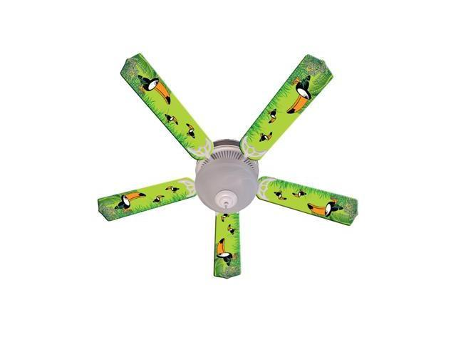 Ceiling Fan Designers 52FAN-IMA-TC Kids Toucan Clan Ceiling Fan 52 In.