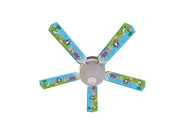 Ceiling Fan Designers 52FAN-IMA-JPA Jungle Party Animals Ceiling Fan 52 In.