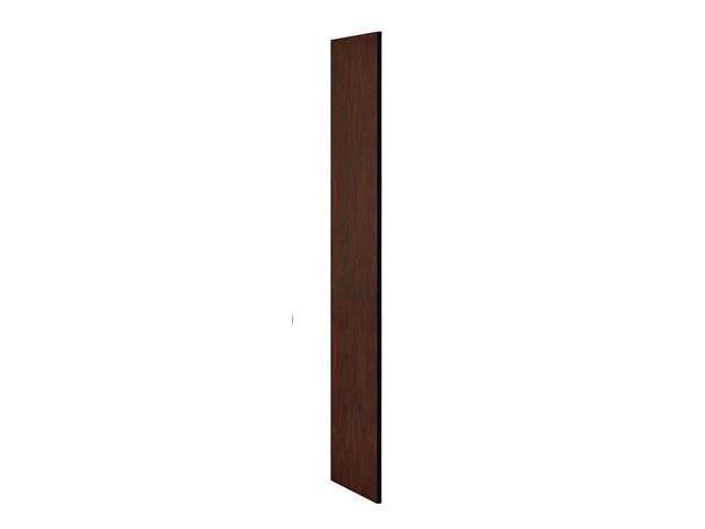 Salsbury Industries 30033MAH Side Panel - Open Access Designer Wood Locker 18 in. D without Sloping Hood - Mahogany