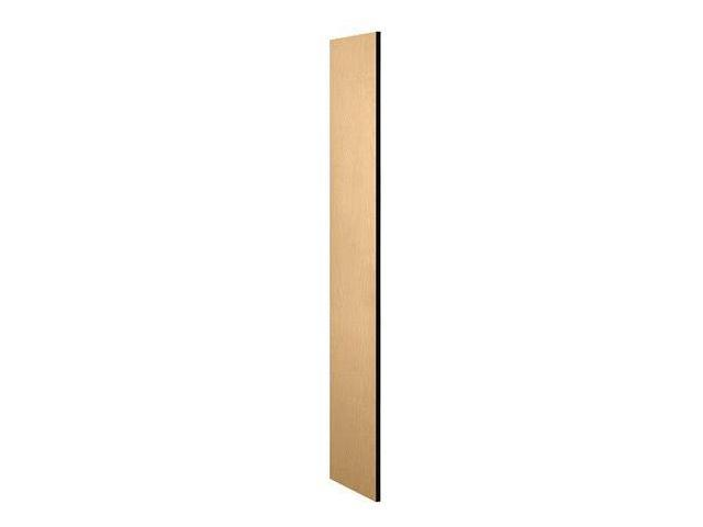Salsbury Industries 30033MAP Side Panel - Open Access Designer Wood Locker 18 in. D without Sloping Hood - Maple