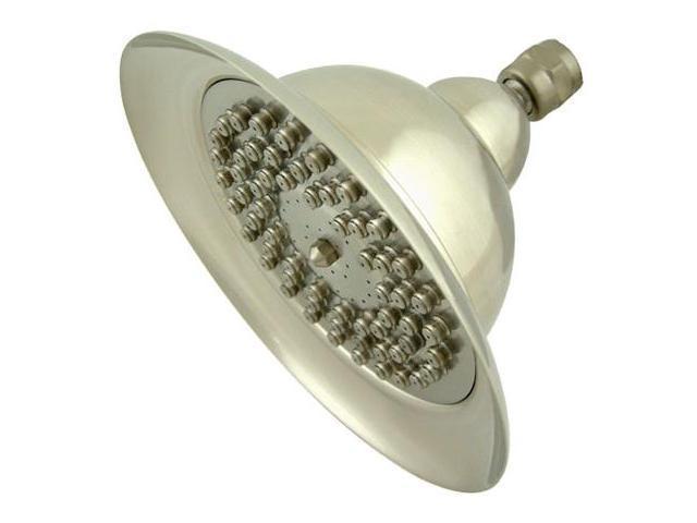 Kingston Brass K306C8 8 Inch Diameter Bell Shape Shower Head - Satin Nickel