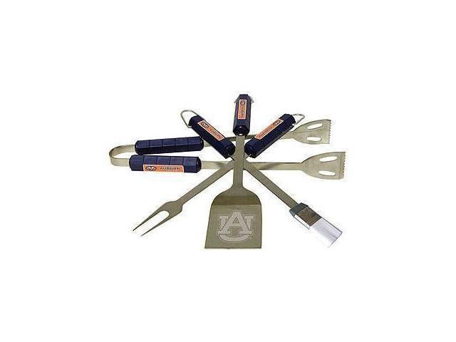 Bsi Products 61045 4 Pc Bbq Set - Auburn Tigers