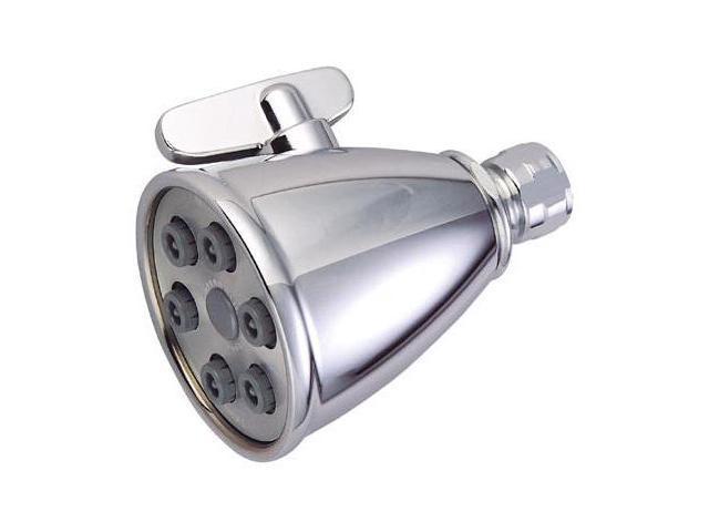 Kingston Brass GK138A15 Kingston Brass Watersense GK138A15 Jet Spray Shower Head, Chrome