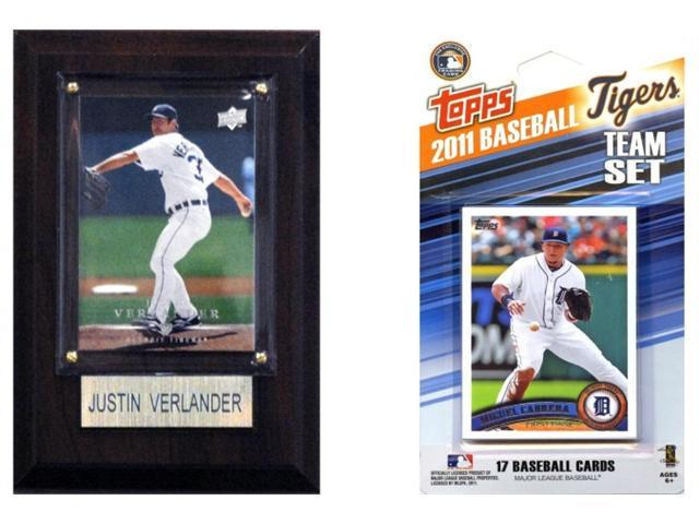 C & I Collectables 11TIGERSFP MLB Detroit Tigers Fan Pack
