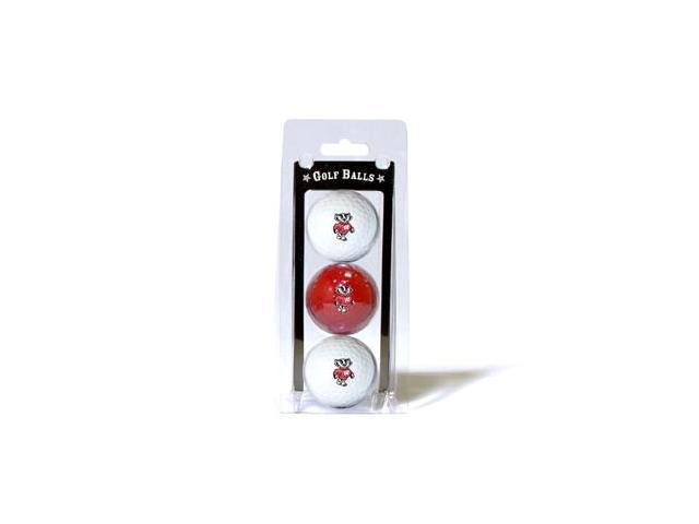 Team Golf 23905 Wisconsin Badgers Golf Ball Pack