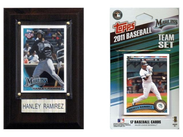 C & I Collectables 11MARLINSFP MLB Florida Marlins Fan Pack