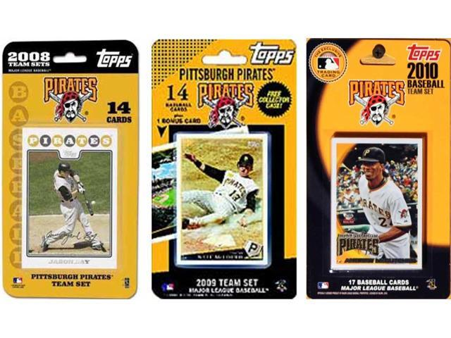 C & I Collectables PIRATES3TS MLB Pittsburgh Pirates 3 Different Licensed Trading Card Team Sets