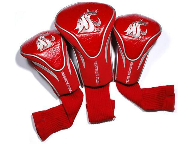 Team Golf 46294 Washington State 3 Pack Contour Fit Headcover