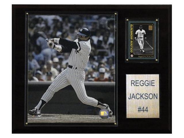 C & I Collectables 1215REGGIEJ MLB Reggie Jackson New York Yankees Player Plaque