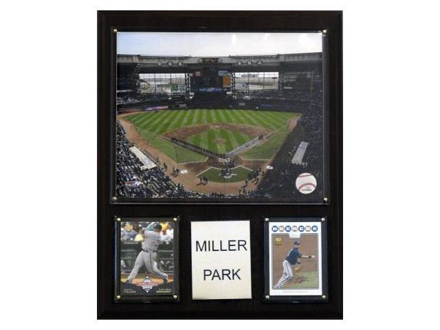 C & I Collectables 1215MILLP MLB Miller Park Stadium Plaque