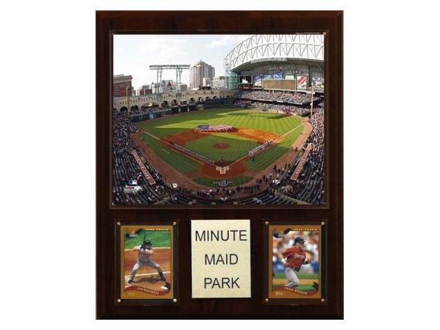 C & I Collectables 1215MINUTE MLB Minute Maid Park Stadium Plaque