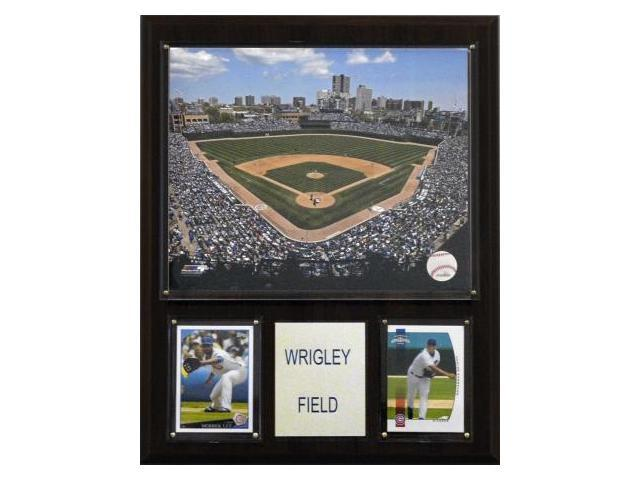 C & I Collectables 1215WRIGLEY MLB Wrigley Field Stadium Plaque