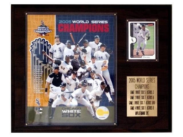 C & I Collectables 1215WS05 MLB White Sox 2005 World Series Champions Plaque