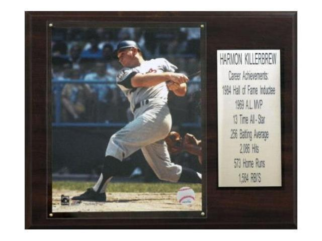 C & I Collectables 1215KILLST MLB Harmon Killebrew Minnesota Twins Career Stat Plaque