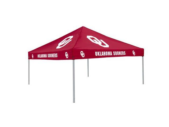 Logo Chair 192-41 Oklahoma Sooners Tailgate Tent Canopy - Colored