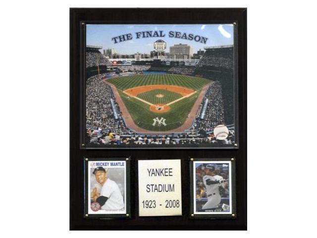 C & I Collectables 1215OYST MLB Yankee Stadium Final Season Stadium Plaque
