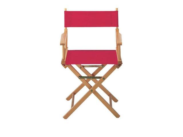 Yu Shan CO USA Ltd 021-11 Director chair replacement cover kit, Red