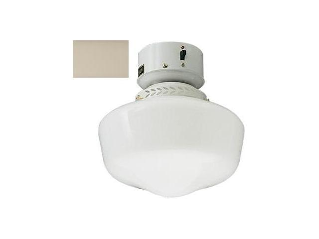 Craftmade OLK3CFL-AW 9 Inch Outdoor School House With Compact Fluorescent