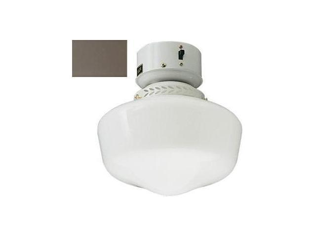 Craftmade OLK3CFL-BR 9 Inch Outdoor School House With Compact Fluorescent