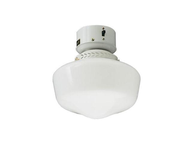 Craftmade OLK3CFL-W 9 Inch Outdoor School House With Compact Fluorescent