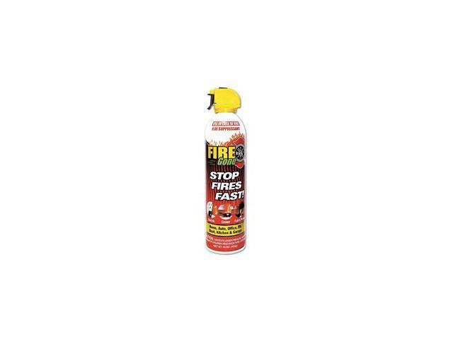 Max Professional 7209 Fire Gone Supressant 16 Oz with Bracket - Pack of 12