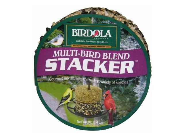 Birdola 6.4 Oz Multi Bird Stacker  54610 - Pack of 6