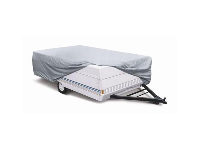 Classic Accessories 74203 Polypropylene Folding Tent Trailer Cover in Grey