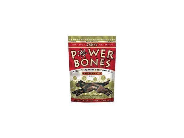Zukes Pet Dog Treat Power Bones Chicken