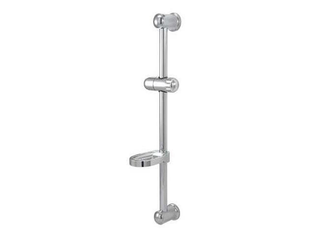 Kingston Brass KX2522SG Kingston Brass KX2522SG 24 in. Glide Bar with Acrylic Soap Dish and Hand Held Shower Holder, Chrome