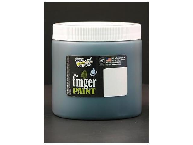 Rock Paint- Handy Art RPC241045 Handy Art Green 16Oz Washable Finger Paint