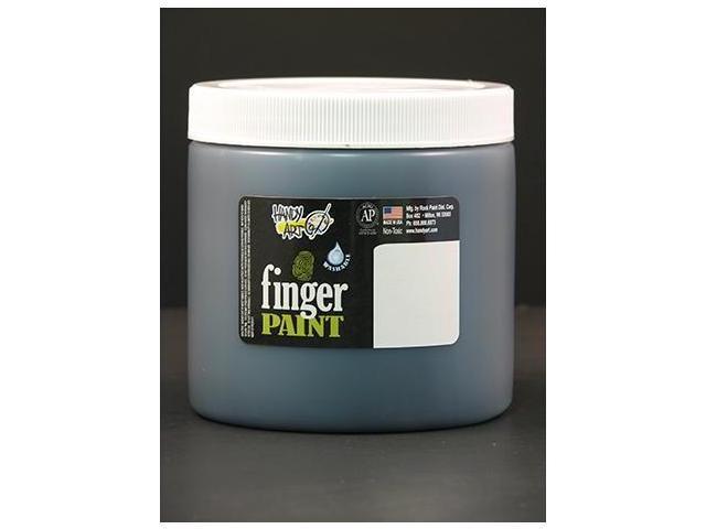 Rock Paint- Handy Art RPC241055 Handy Art Black 16Oz Washable Finger Paint