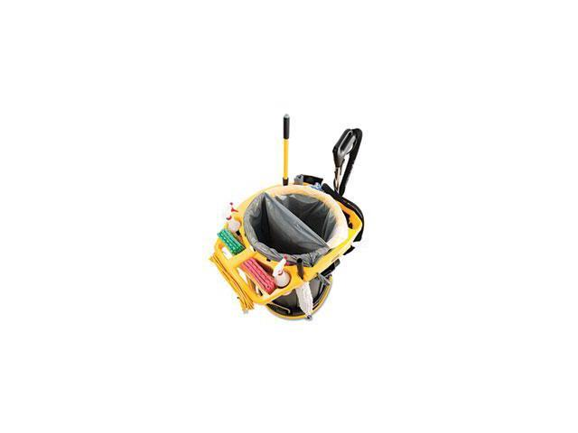 Rcp 9VDVRC4400 Deluxe Rim Caddy, 28 1/2 x 39 1/8, Yellow